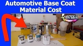 How Much Does Automotive Paint Cost?