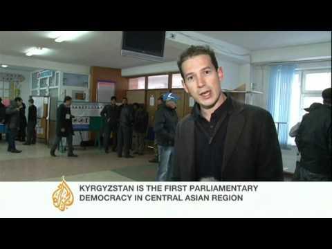 Kyrgyzstan votes for new president