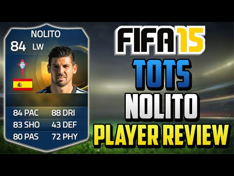 Fifa 15 TOTS Nolito Review (84) w/ In Game Stats & Gameplay - Fifa 15 Player Review