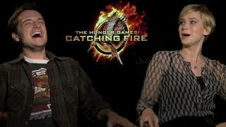 Josh Hutcherson & Jennifer Lawrence Funny Moments 2013