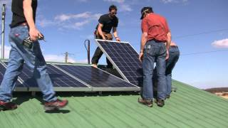 Solar panel install to SkyMax grid tie inverter DIY How To