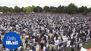 Record 140,000 Muslims attend Eid celebration in Birmingham - Daily Mail