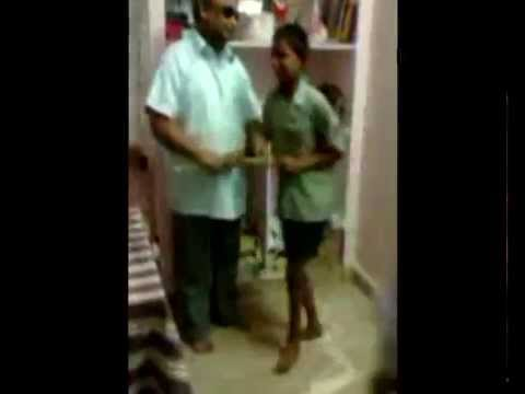 Blind Child Tortured Mercilessly By Andhra Pradesh Teachers - Shocking Video video