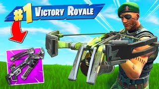WINNING With Crossbow *ONLY* In Fortnite!