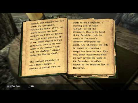 Let's Read The Nightingales Vol. 1 (Let's Read The Books of Skyrim, Book 261)