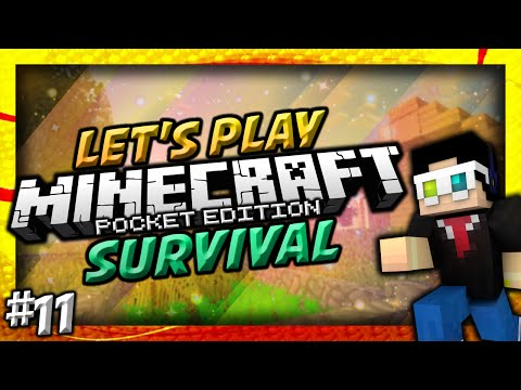 0.9.0 Minecraft Pocket Edition: Survival Lets Play w Ace Ep.11 Pathway Troubles Beta