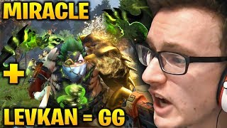 MIRACLE TA + LEVKAN PUDGE = ABSOLUTELY GG Dota 2 7.17