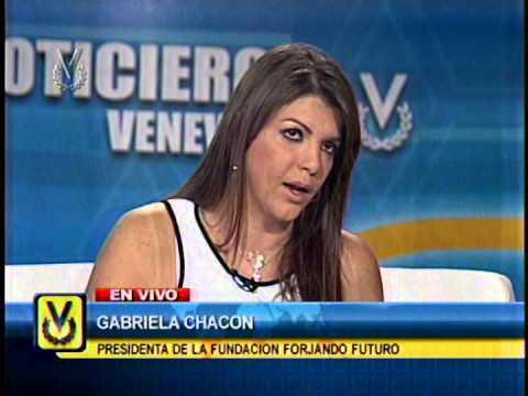 Entrevista Venevisión: Gabriela Chacón, Presidenta De La Fundación Forjando Futuro video