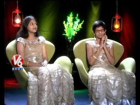 Kathi Karthika With Komali Sisters - V6 Exclusive Interview