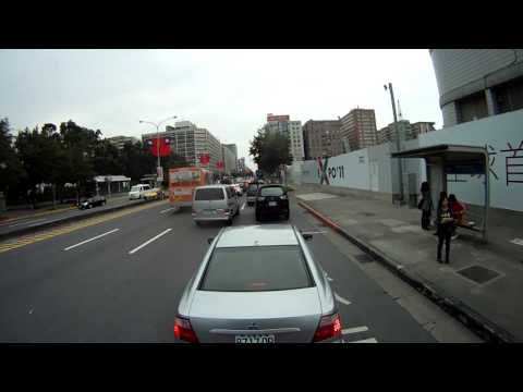 Drive from Taipei to New Taipei City - 36KM in 1 Minute