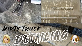 Deep Cleaning a Girl's DIRTY Truck | Complete Interior Exterior Car Detailing
