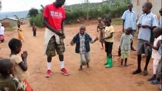 Village kid's dance off