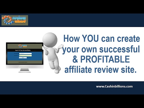 Review Wizard Review Demo   Affiliate Marketing Training   Review Software for Website