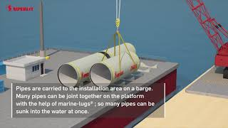 SUPERLIT Piping Systems Under Water - Marine Lug