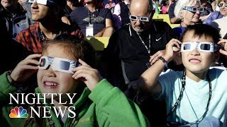 Millions Watch Eclipse Cross America | NBC Nightly News