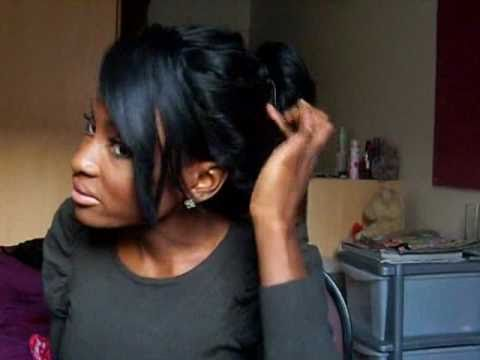Messy Bun Updo Hair Tutorial