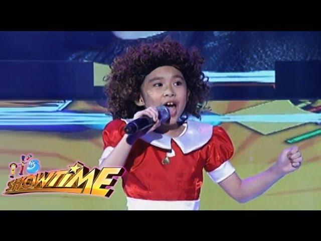 """Tomorrow"" from the musical Annie, sample ng MiNiME ni Lea Salonga"