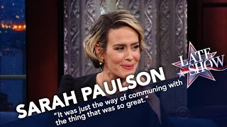 Sarah Paulson Once Sniffed The Back Of Cher