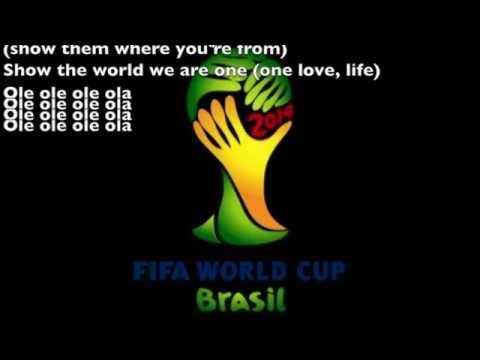 Pitbull - We Are One (Ole Ola) Lyrics World cup 2014 football official song.