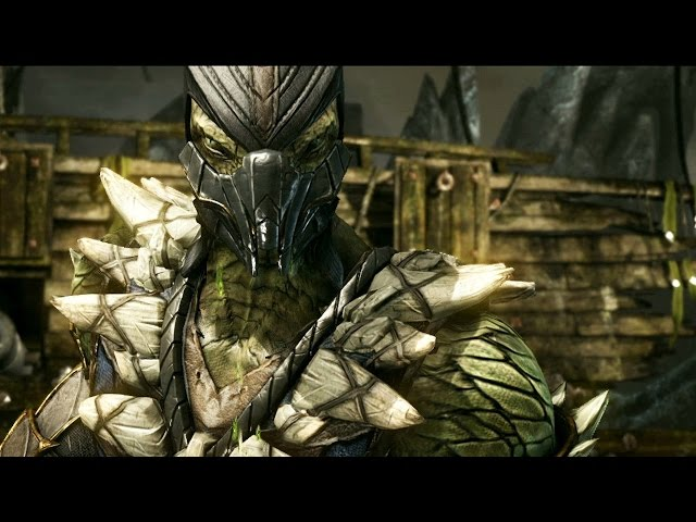Mortal Kombat X: Reptile Reveal Rewind Theater