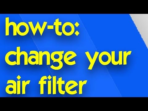 how to change central air conditioner filter