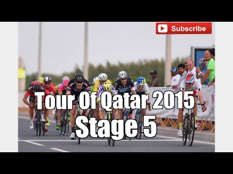 Tour of Qatar 2015 - Stage 5 - FINAL KILOMETERS