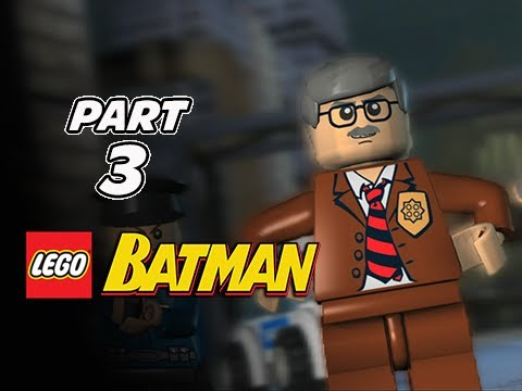 LEGO Batman Gameplay Walkthrough Part 3 - Two-Face Chase (Let's Play Playthrough)