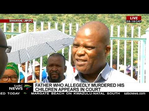 Father who allegedly murdered his children appears in court