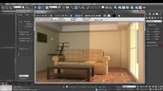 v-ray for 3ds max tutorial series 03 (03) global illumination (brute force , light cache)