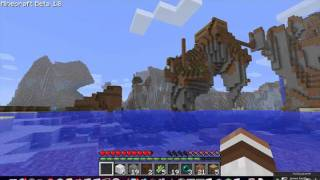 Minecraft 1.8 co-op Build n' Play : 003
