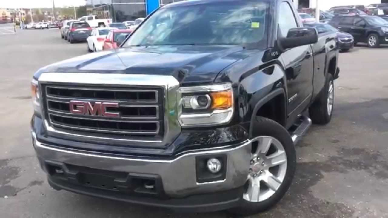 Gmc Single Cab 2014 >> 2014 GMC Sierra 1500 SLE Regular Cab Review | 140167 - YouTube