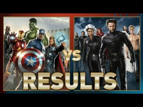 Avengers vs. X-Men: Fanboy Faceoff Results!