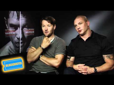 Warrior Interviews - Joel Edgerton & Tom Hardy