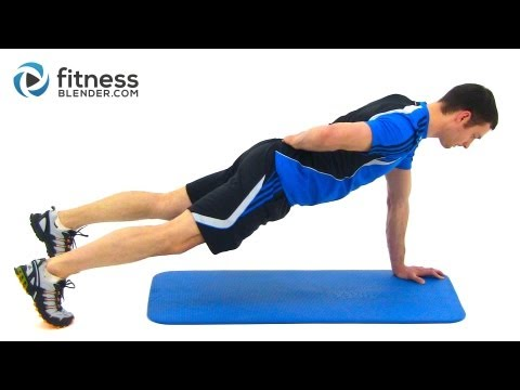 Bodyweight Workout Routine - Nonstop Total Body Workout Image 1