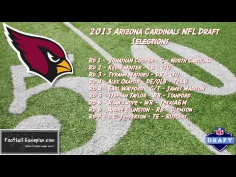 Football Gameplan's 2013 NFL Draft Grades - Arizona Cardinals