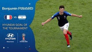 Benjamin PAVARD Goal - France v Argentina - MATCH 50