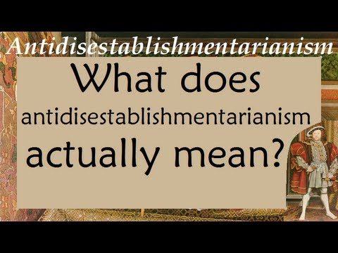 Antidisestablishmentarianism for What does diction mean
