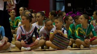 Gorle (BG): Coppa Italia di Aerobica - Categoria Allievi (1^ parte)