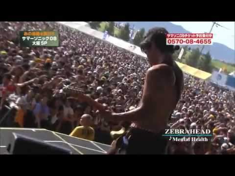Zebrahead - Mental Health (Live @ Summersonic, Japan 2008)