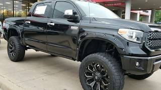 Lifted black & silver Toyota Tundras. What's your favorite?