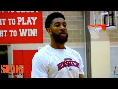 Christian Watford 2013 NBA Draft Workout - Indiana Hoosiers Basketball