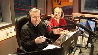 Lol - funny joke from Irish radio host