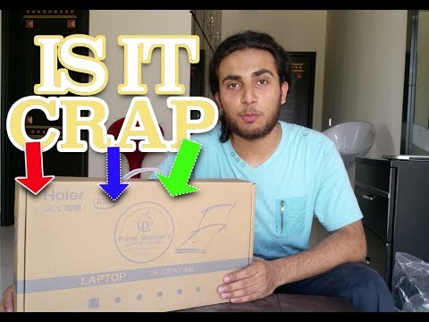 Unboxing The First Haier 3 in 1 Laptop Y11b   Prime Minister Laptop   Hackintosh-able