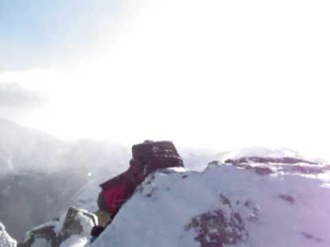Windy Mount Adams summit New Hampshire