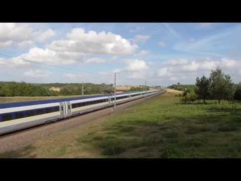 6K74 Krupps 0003 + 0007 + 0002 + Eurostar 374 018 & 017 Calais Frethun - Temple Mills