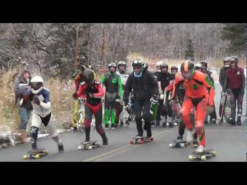SQUAW PEAK OUTLAW 2011- The Snowy Race!