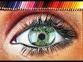 Christmas Realistic Eye Drawing 14y/o