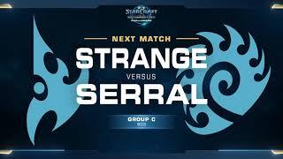 Strange vs Serral ZvP - Group C - WCS Challenger EU Season 2