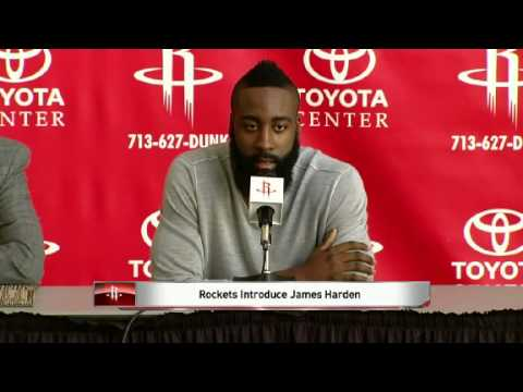 Daryl Morey GM Discusses Blockbuster Trade [James Harden]