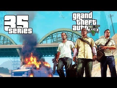 Прохождение Grand Theft Auto 5 (GTA V) #35 - Хищник/Убийство - Стройка